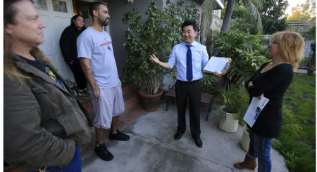 Can David Ryu maintain his outsider stance inside City Hall    LA Times