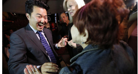 Strong support in Koreatown propels David Ryu to L.A. City Council victory   LA Times